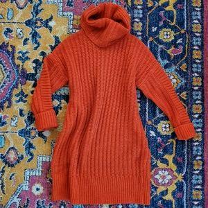 Banana Republic Italian yarn sweater dress EUC
